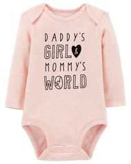 Baby Girl Daddy's Little Princess Collectible Bodysuit | Carters.com