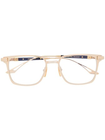 Shop Dita Eyewear interchangeable temple glasses with Express Delivery - FARFETCH