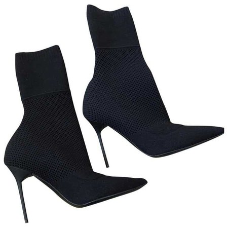 BURBERRY Cloth ankle boots