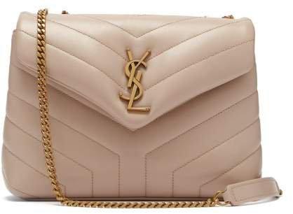 Loulou Medium Leather Shoulder Bag - Womens - Beige