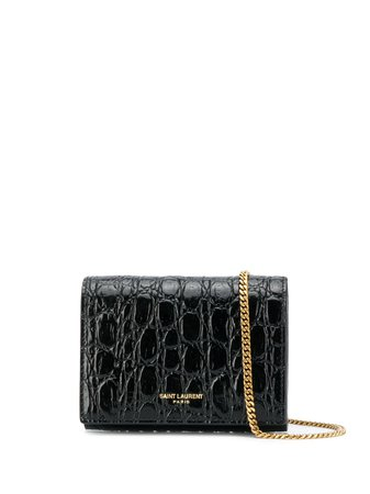 Saint Laurent Mini Leather Shoulder Bag - Farfetch