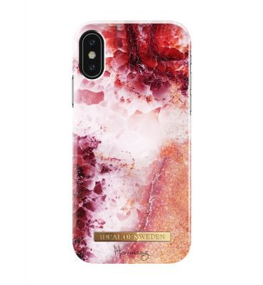 Hannalicious Collection iPhone XS Coral Crush - iDeal Of Sweden