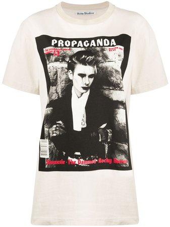 Acne Studios Magazine Print T-shirt - Farfetch