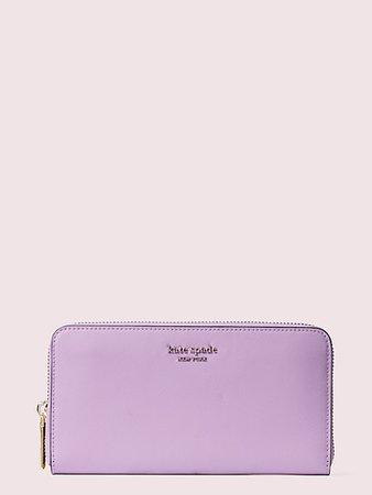spencer zip-around continental wallet | Kate Spade New York