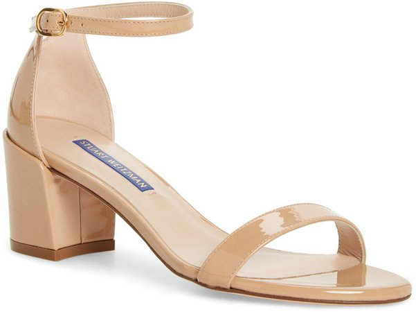 Simple Ankle Strap Sandal
