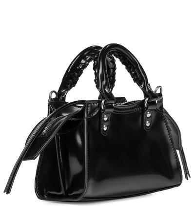 Neo Classic Nano Leather Tote - Balenciaga   Mytheresa