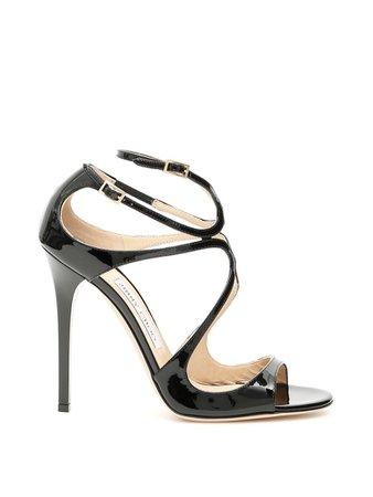 Jimmy Choo Jimmy Choo Lance Sandals - BLACK (Black) - 10962775 | italist