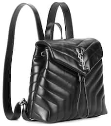 Small Loulou Leather Backpack - Saint Laurent   mytheresa