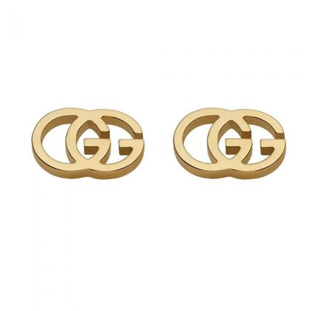 Gucci GG Tissue Stud Earrings in 18k Yellow Gold - Item 19381235 | REEDS Jewelers