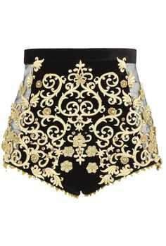river island baroque shorts