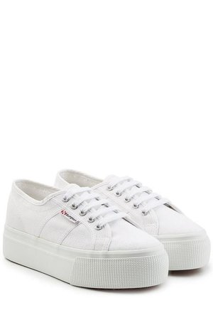 Superga Actor Linea Up Platform Sneakers