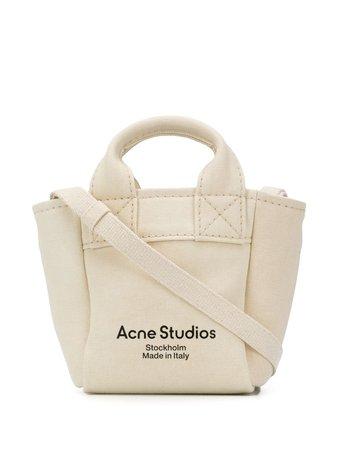 Acne Studios mini canvas tote bag C10054 - Farfetch