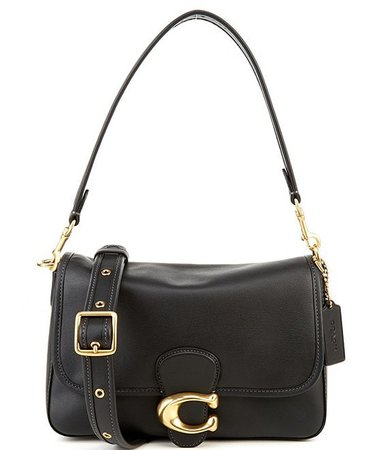 COACH Soft Calf Leather Tabby Shoulder Bag   Dillard's