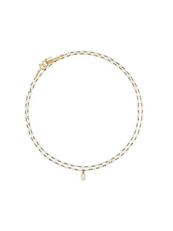 Isabel Marant Beaded Chain Necklace Ss20 | Farfetch.com