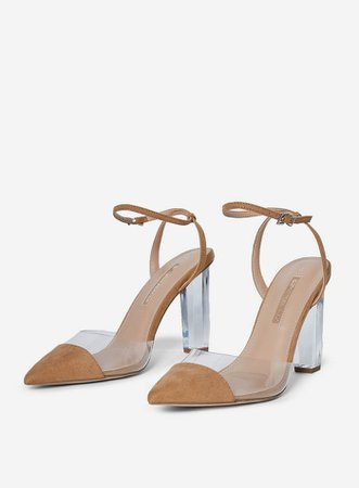 Tan 'Etsie' Court Shoes | Dorothy Perkins