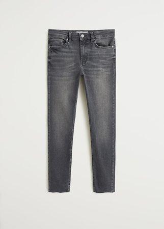 jean skinny crop   Mango