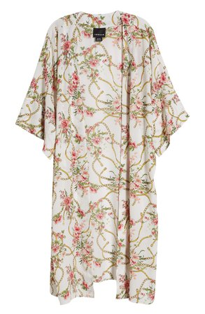 Trouvé Floral Kimono | Nordstrom
