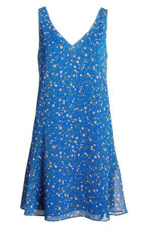 Charles Henry Floral Tank Dress | Nordstrom