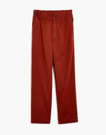 Paperbag Tapered Pants