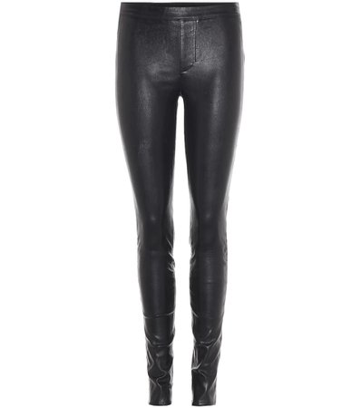 Leather Trousers - Helmut Lang |