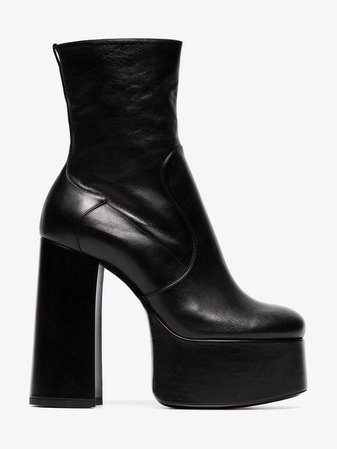 Saint Laurent platform ankle boots   Boots   Browns