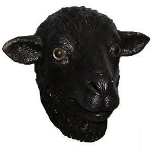 Black sheep mask