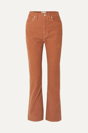 AGOLDE | Vintage cotton-blend corduroy flared pants | NET-A-PORTER.COM