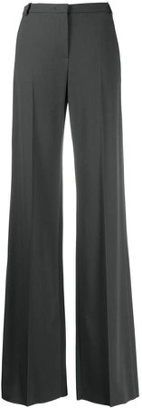 Wide-Leg High Waist Trousers