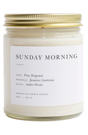 Brooklyn Candle Minimalist Collection - Santal Candle   Nordstrom