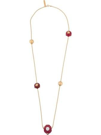 Marni enamelled metal necklace - FARFETCH
