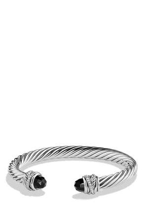 David Yurman Crossover Bracelet with Diamonds | Nordstrom