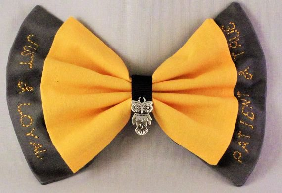 hufflepuff hair bows - Google Search