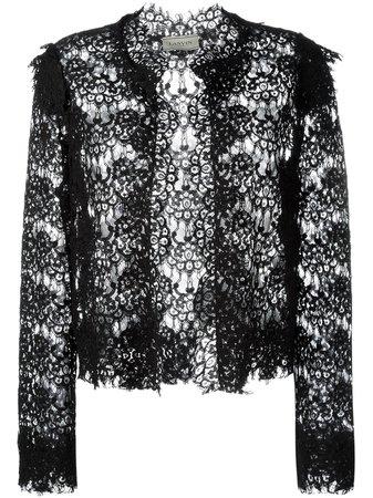 LANVIN, lace cropped jacket