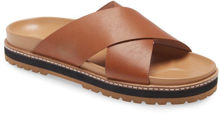 The Dayna Lug Sole Slide Sandal