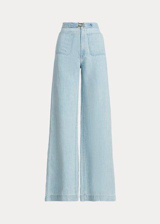 Margery Wide-Leg Jean   Ralph Lauren