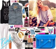 """""""Contest:: VS PINK Spring Break"""" by sbhackney on Polyvore"""