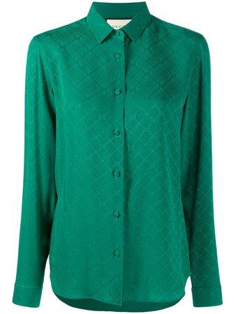 Gucci GG Jacquard Shirt - Farfetch