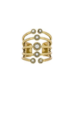The Moroccan Stud Statement Ring