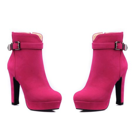 hot pink ankle boots Top Rated Shoes