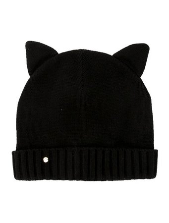 Kate Spade New York Cat Ear Knit Beanie w/ Tags - Accessories - WKA103753 | The RealReal