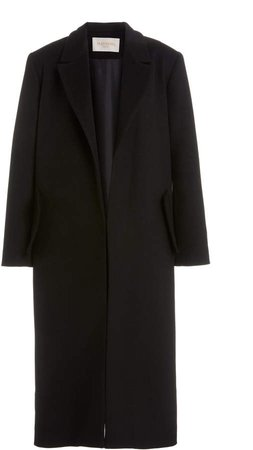 MATERIEL Belted Oversized Wool Blend Coat