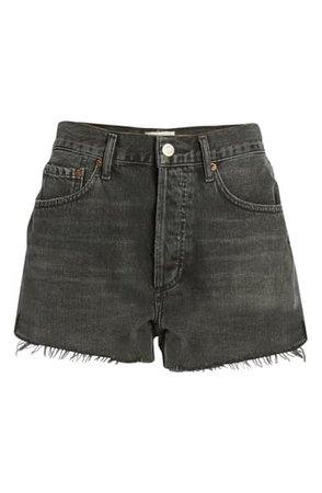 AGOLDE Parker Cutoff Denim Shorts (Crash) | Nordstrom