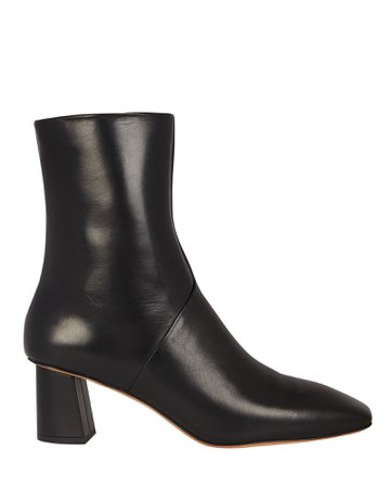 3.1 Phillip Lim Tess Leather Square Toe Boots | INTERMIX®