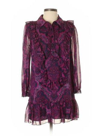 Anna Sui Women Purple Casual Dress 2   eBay