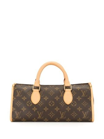 Shop brown Louis Vuitton 2007 pre-owned Popincourt handbag with Express Delivery - Farfetch
