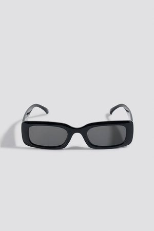 Wide Retro Look Sunglasses Black | na-kd.com
