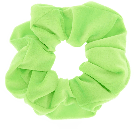 scrunchie fluo green - Sticker by sarahfoustoul