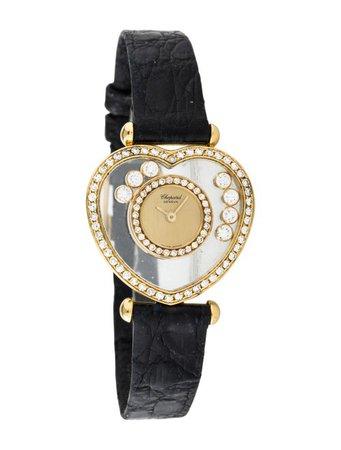 Chopard Happy Diamonds Watch - Strap - CHP22105 | The RealReal