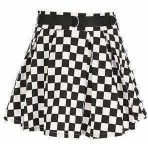 Checkerboard Skater Skirt – Own Saviour