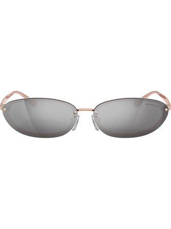 Michael Kors Miramar Sunglasses MK210432466G Pink | Farfetch